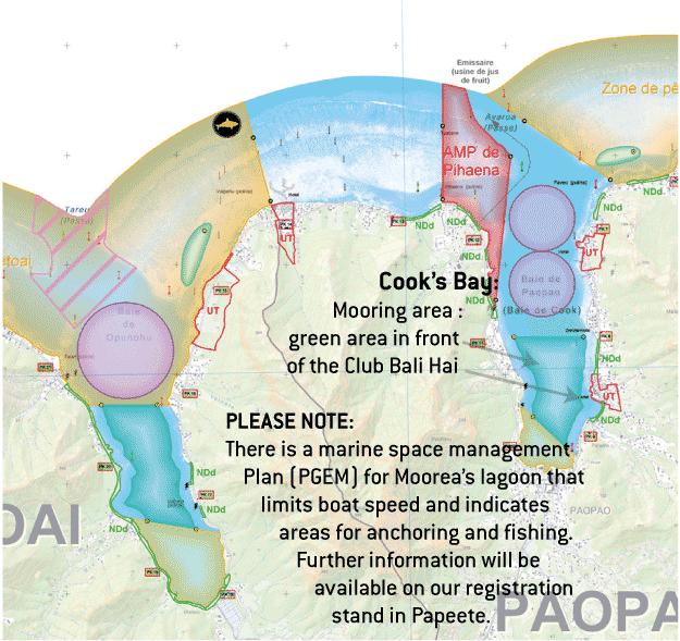 Moorea Mooring Area